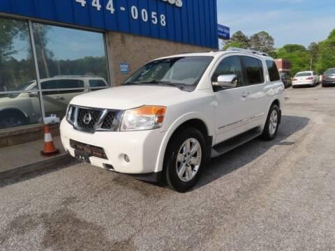2012 Nissan Armada for sale at 1st Choice Autos in Smyrna GA