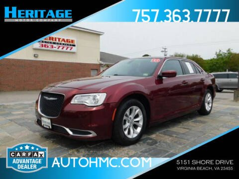 2016 Chrysler 300 for sale at Heritage Motor Company in Virginia Beach VA