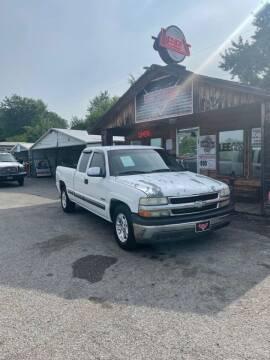 2000 Chevrolet Silverado 1500 for sale at LEE AUTO SALES in McAlester OK