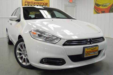 2013 Dodge Dart for sale at Performance car sales in Joliet IL