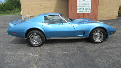 1975 Chevrolet Corvette for sale at LENTZ USED VEHICLES INC in Waldo WI