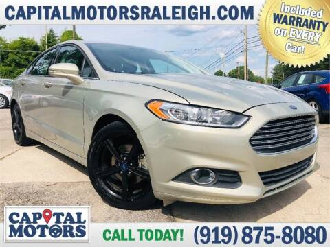2016 Ford Fusion for sale at Capital Motors in Raleigh NC