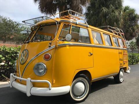 1973 Volkswagen Vanagon for sale at DS Motors in Boca Raton FL