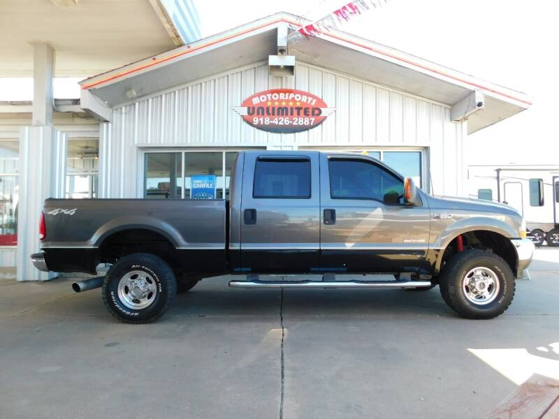 2003 Ford F-350 Super Duty for sale at Motorsports Unlimited in McAlester OK