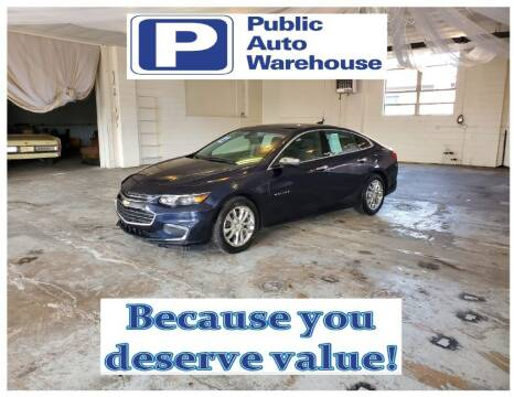 2016 Chevrolet Malibu for sale at Public Auto Warehouse in Pekin IL