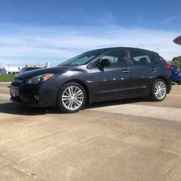 2012 Subaru Impreza for sale at UNITED AUTO INC in South Sioux City NE