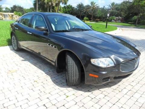 2007 Maserati Quattroporte for sale at AUTO HOUSE FLORIDA in Pompano Beach FL