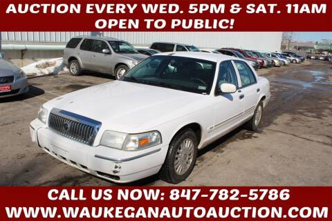 2006 Mercury Grand Marquis for sale at Waukegan Auto Auction in Waukegan IL