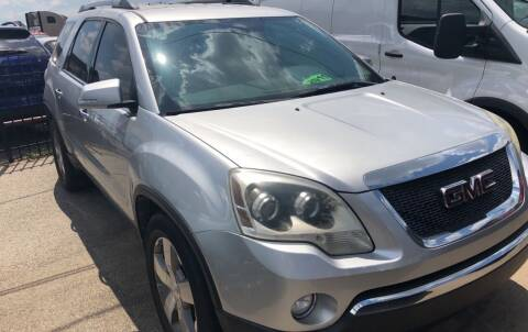 2011 GMC Acadia for sale at Auto Access in Irving TX