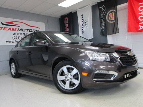 2015 Chevrolet Cruze for sale at TEAM MOTORS LLC in East Dundee IL