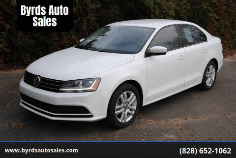 2018 Volkswagen Jetta for sale at Byrds Auto Sales in Marion NC