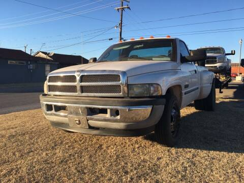2001 Dodge Ram Pickup 3500 for sale at A & G Auto Sales in Lawton OK