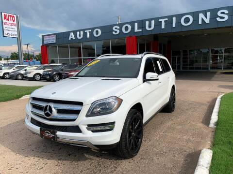 2015 Mercedes-Benz GL-Class for sale at Auto Solutions in Warr Acres OK