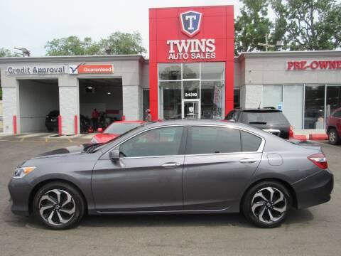 2016 Honda Accord for sale at Twins Auto Sales Inc Redford 1 in Redford MI