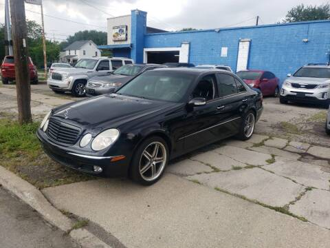2003 Mercedes-Benz E-Class for sale at M & C Auto Sales in Toledo OH
