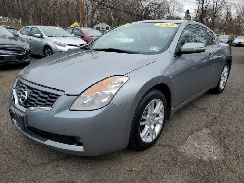 2008 Nissan Altima for sale at CENTRAL GROUP in Raritan NJ