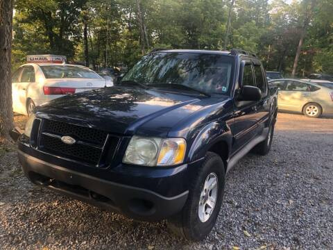 2005 Ford Explorer Sport Trac for sale at Noble PreOwned Auto Sales in Martinsburg WV