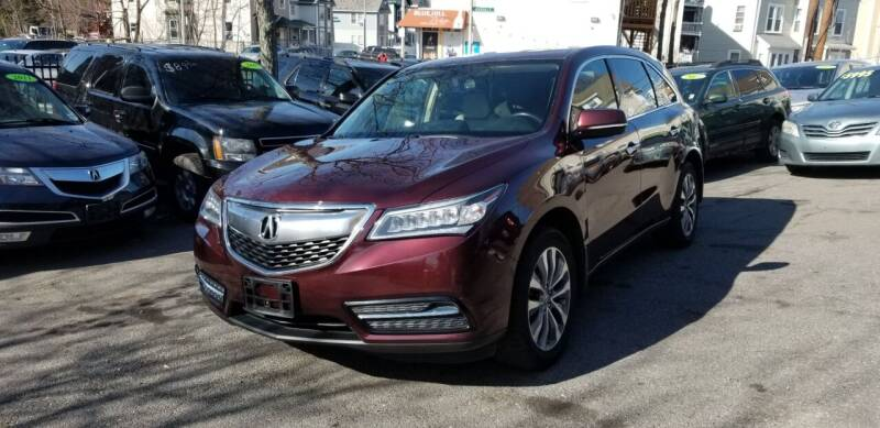 2014 Acura MDX for sale at Motor City in Roxbury MA