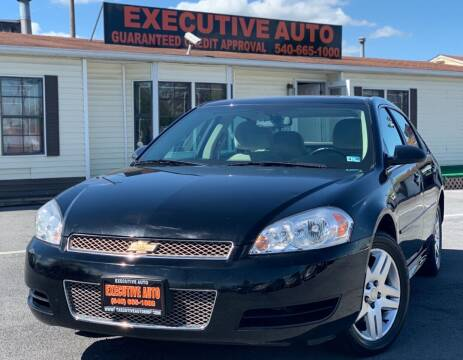 2014 Chevrolet Impala Limited for sale at Executive Auto in Winchester VA