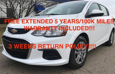 2020 Chevrolet Sonic for sale at Mikes Auto Forum in Bensenville IL