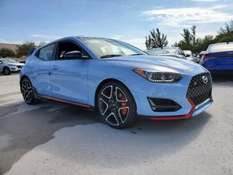 2021 Hyundai Veloster N for sale at DORAL HYUNDAI in Doral FL