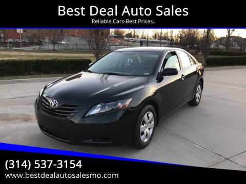 2007 Toyota Camry for sale at Best Deal Auto Sales in Saint Charles MO