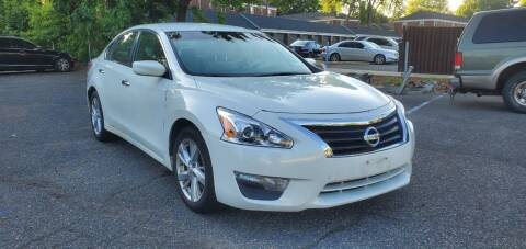 2013 Nissan Altima for sale at Moor's Automotive in Hackettstown NJ