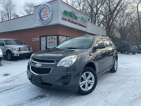 2011 Chevrolet Equinox for sale at GMA Automotive Wholesale in Toledo OH
