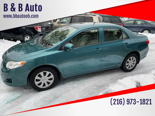 2010 Toyota Corolla for sale at B & B Auto in Cleveland OH