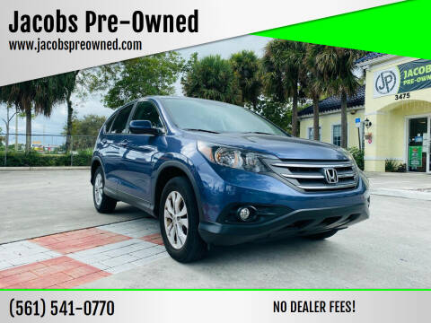 2013 Honda CR-V for sale at Jacobs Pre-Owned in Lake Worth FL