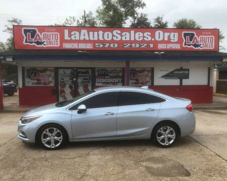 2017 Chevrolet Cruze for sale at LA Auto Sales in Monroe LA