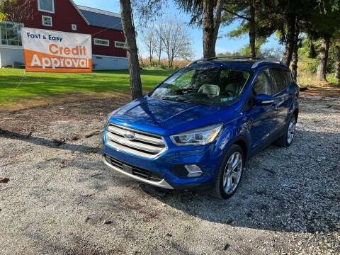 2019 Ford Escape for sale at Caulfields Family Auto Sales in Bath PA