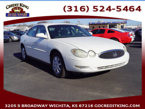 2006 Buick LaCrosse for sale at Credit King Auto Sales in Wichita KS