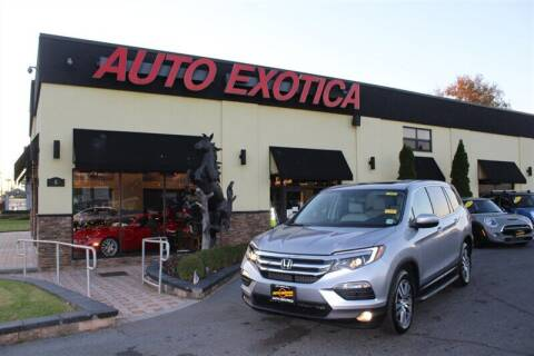 2017 Honda Pilot for sale at Auto Exotica in Red Bank NJ