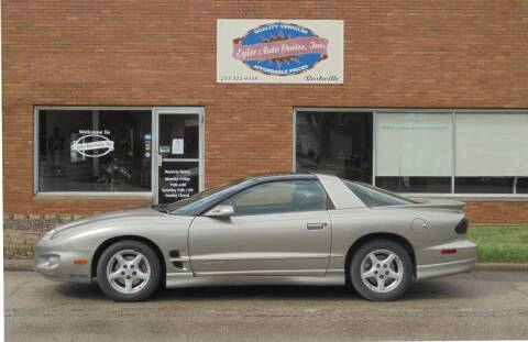 2002 Pontiac Firebird for sale at Eyler Auto Center Inc. in Rushville IL