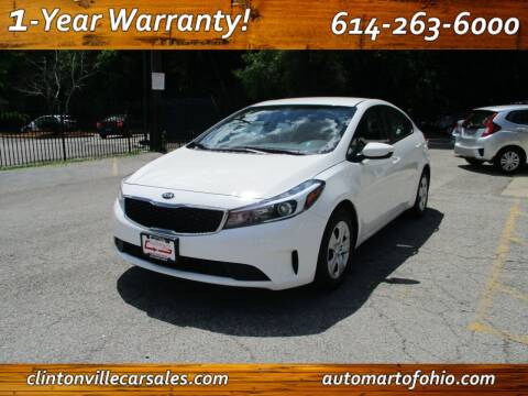 2017 Kia Forte for sale at Clintonville Car Sales - AutoMart of Ohio in Columbus OH