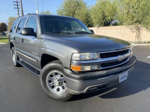 2002 Chevrolet Tahoe for sale at Beach Auto Group LLC in Midway City CA