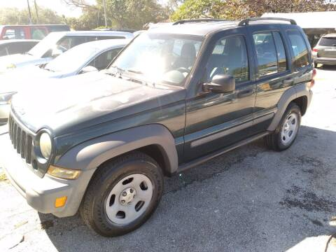 2005 Jeep Liberty for sale at P S AUTO ENTERPRISES INC in Miramar FL