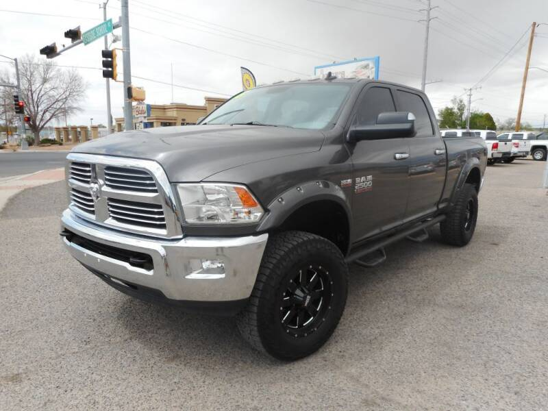 2015 RAM Ram Pickup 2500 for sale at AUGE'S SALES AND SERVICE in Belen NM