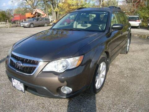 2008 Subaru Outback for sale at HALL OF FAME MOTORS in Rittman OH