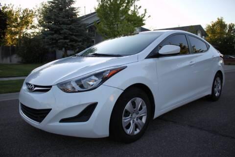 2016 Hyundai Elantra for sale at Motor City Idaho in Pocatello ID