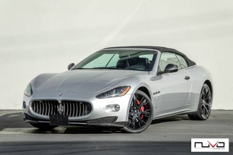2011 Maserati GranTurismo for sale at Nuvo Trade in Newport Beach CA