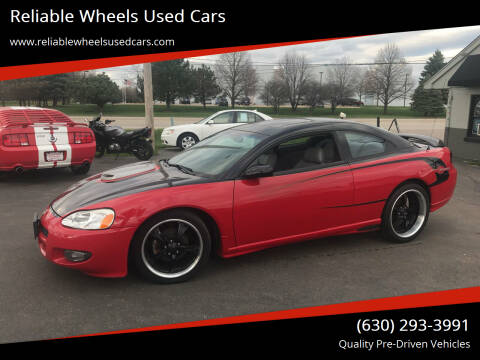 2001 Dodge Stratus for sale at Reliable Wheels Used Cars in West Chicago IL