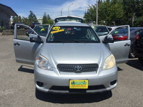 2006 Toyota Matrix for sale at Federal Way Auto Sales in Federal Way WA
