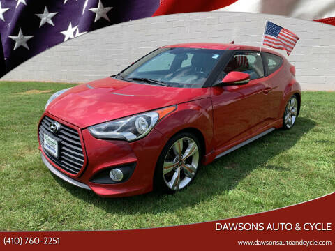 2013 Hyundai Veloster for sale at Dawsons Auto & Cycle in Glen Burnie MD
