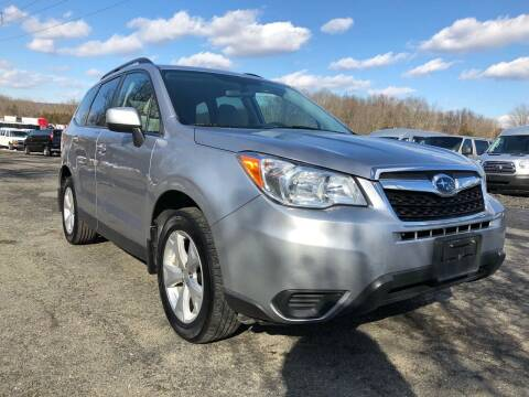 2016 Subaru Forester for sale at HERSHEY'S AUTO INC. in Monroe NY