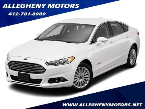 2014 Ford Fusion Hybrid for sale at Allegheny Motors in Pittsburgh PA