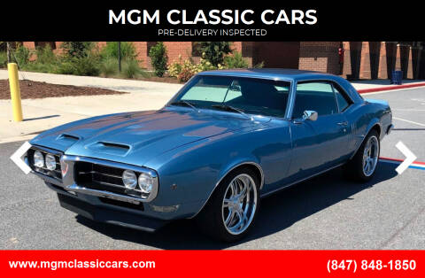1968 Pontiac Firebird for sale at MGM CLASSIC CARS-New Arrivals in Addison IL