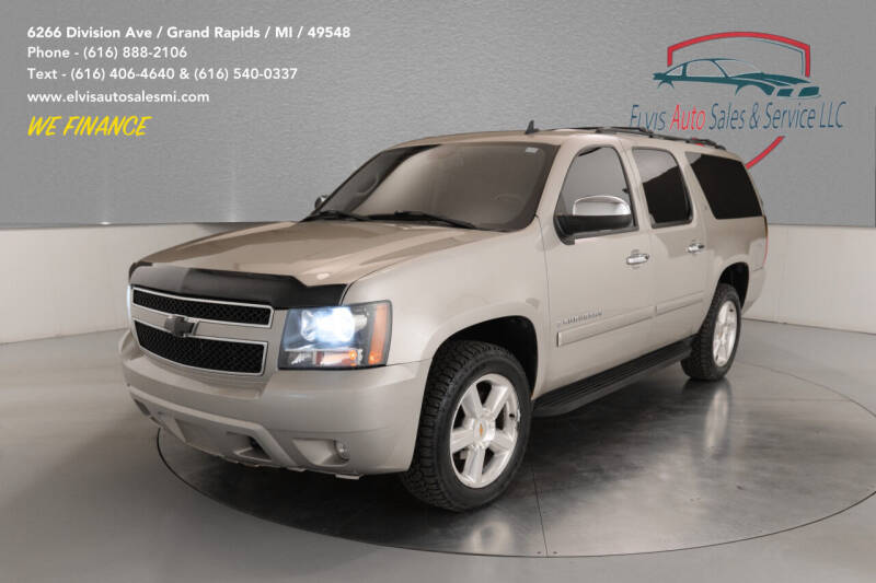 2008 Chevrolet Suburban for sale at Elvis Auto Sales LLC in Grand Rapids MI