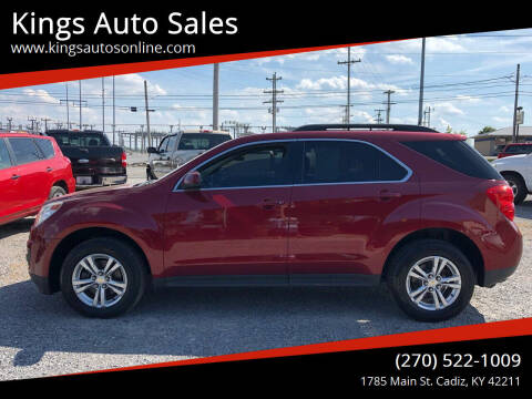 2010 Chevrolet Equinox for sale at Kings Auto Sales in Cadiz KY